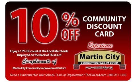 Martin City Discount Card Details   Welcome to Martin City