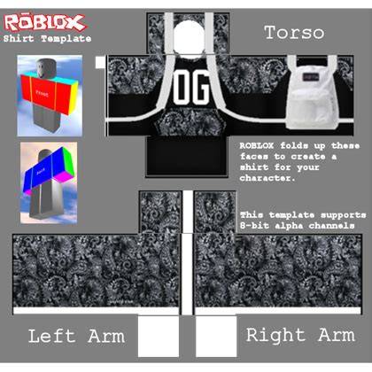 shirt template roblox
