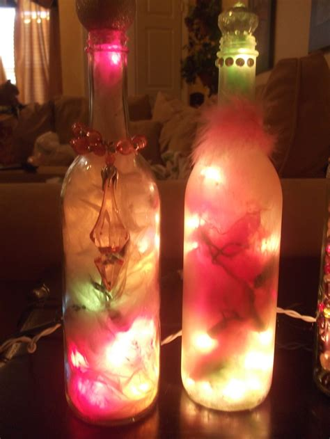 decorated wine bottles with lights inside 134 best wine bottle lighting images on pinterest bottle