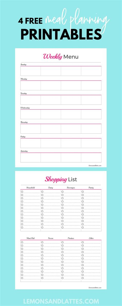 Best 25 Grocery List Printable Ideas On Pinterest Free Groceries Grocery Checklist And Newsletter Planning Template