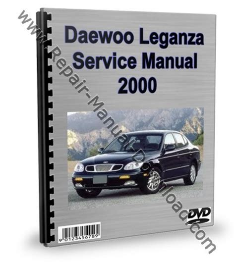 car service manuals pdf 2000 daewoo leganza parking system daewoo leganza service repair manual workshop download download m