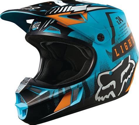 fox helmets 119 95 fox racing youth v1 vicious dot helmet 234831
