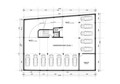 garage layout plans underground parking garage design on a small plot freelancer