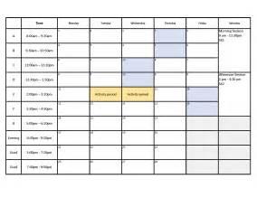 block schedule bentley