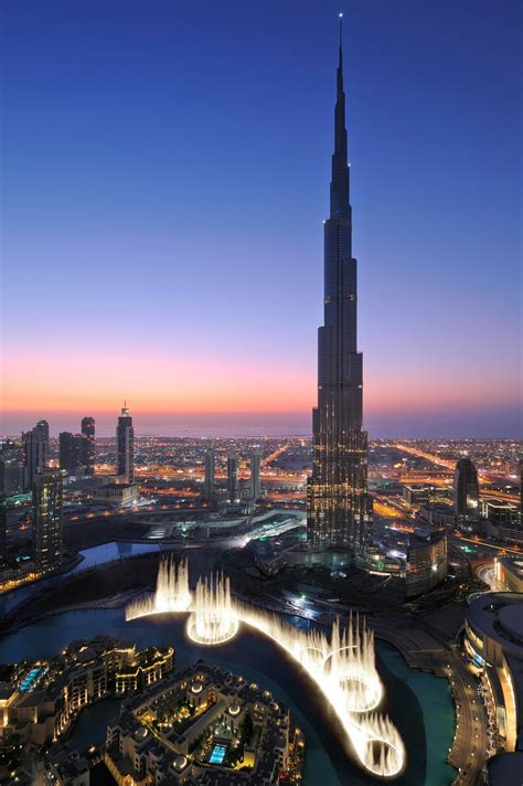 burj khalifa burj khalifa the tallest man made structure in the world