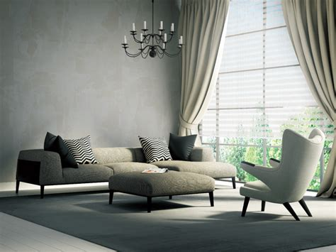 modern window treatments for living room window treatments modern living room other by