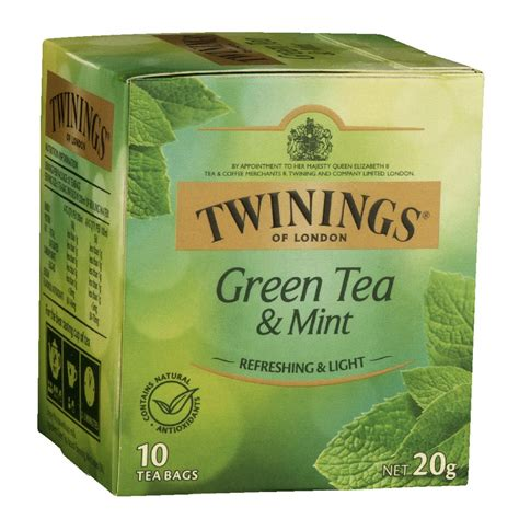 Kitchen Cabinets Software Twinings Green Tea With Mint Bags 10 Pack Ebay