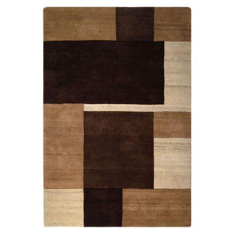modern brown rug sartori modern brown wool and silk rug 8005 andonian rugs seattle bellevue store sales