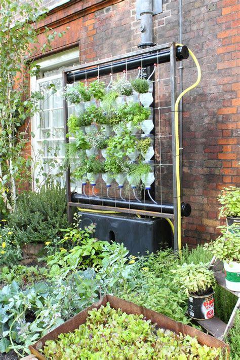 indoor vertical herb garden system  garden featured