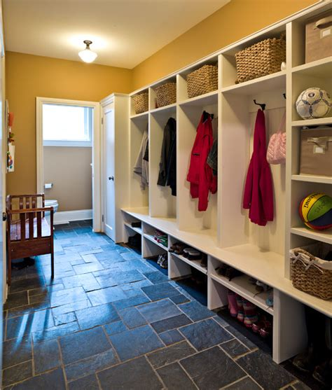 Home Decor Window Treatments mudroom with slate floor traditional entry ottawa