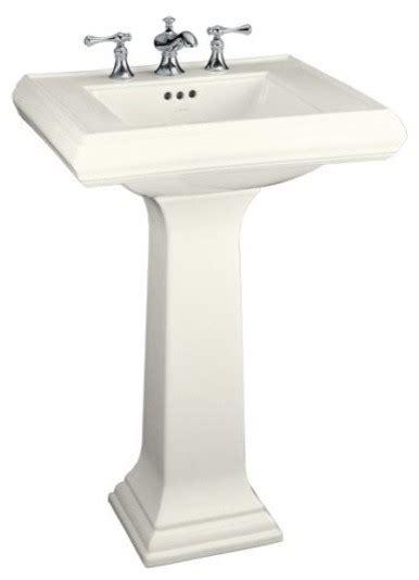 kohler small bathroom sink kohler memoirs pedestal sink traditional bathroom