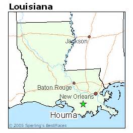 Houma Louisiana Map by Best Places To Live In Houma Louisiana