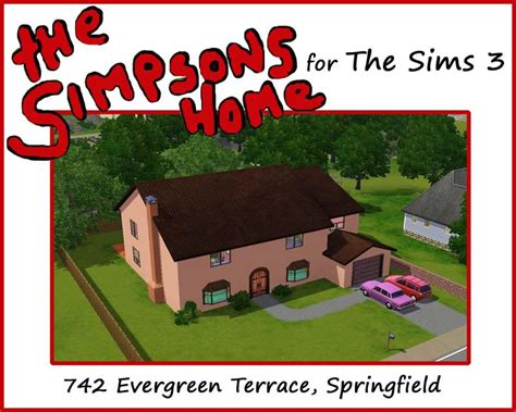 mod the sims the simpsons house 742 evergreen terrace mod the sims the simpsons house 742 evergreen terrace