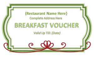 free meal coupon template best photos of food voucher template in pdf payment