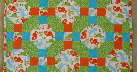 Dinosaur Quilt by Crafter Without A Cat Dinosaur Quilt