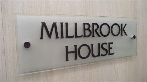 modern home design names modern house sign house name