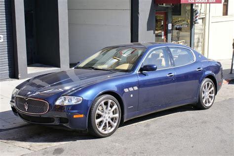 San Francisco Maserati by 2007 Maserati Quattroporte Executive Gt Automatic Stock