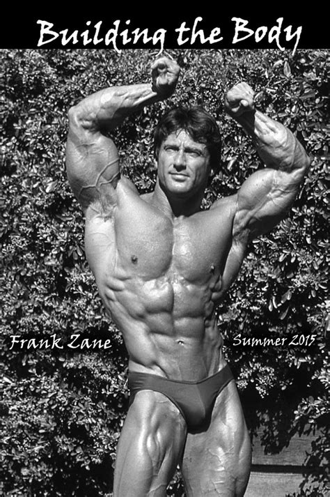 Best Resume Books 2017 by Building The Body Summer 2015 Frank Zane 3x Mr Olympia