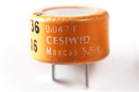 capacitor as battery backup 5x 0 047f 5 5v supercap memory backup battery replacement capacitor usa ebay