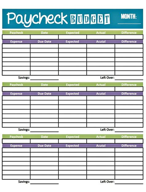 Weekly Budget Planner Excel Template 1000 Ideas About Free Budget Template