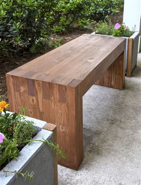 easy 2x4 bench williams sonoma inspired diy outdoor bench outdoor