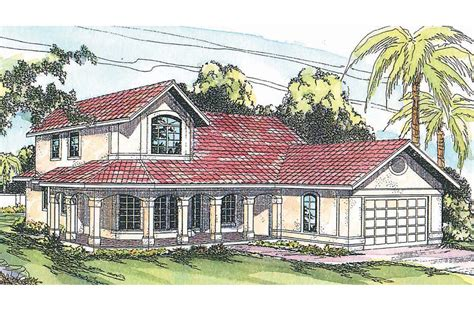 spanish style home plans spanish style house plans kendall 11 092 associated
