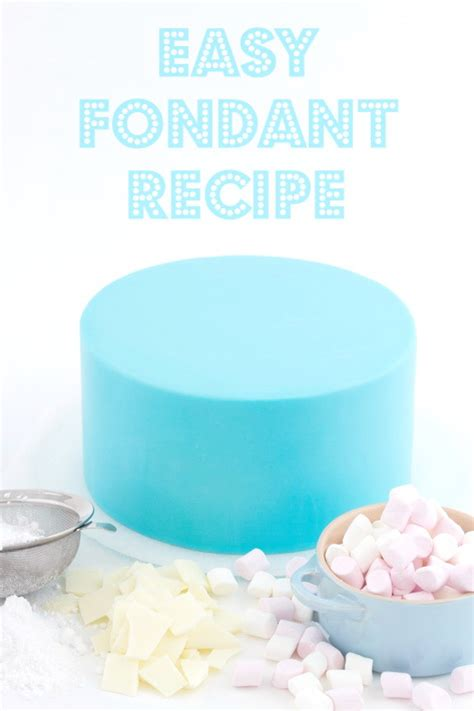 easy fondant recipe on craftsy