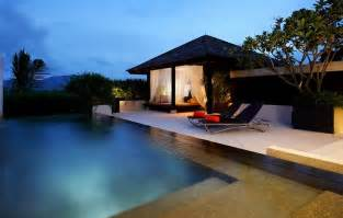 Patio Wedding Decoration Ideas Contemporary Pool House Design Ideas To Complement Your