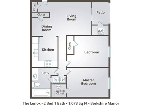 2 bedroom 1 bath apartment 2 bedroom apartment floor plans pricing berkshire