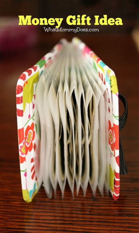cute creative money gift idea perfect for christmas