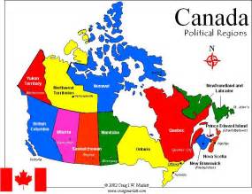map of canada showing provinces and capital cities canada map map state