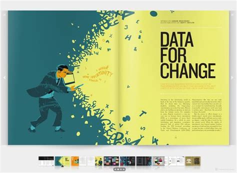 Magazine Layout Now This Is Delicious Fantabulous   illustrations color schemes and layout on pinterest