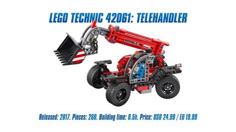 Lego 42061 Technic Telehandler lego technic 42061 telehandler unboxing speed build