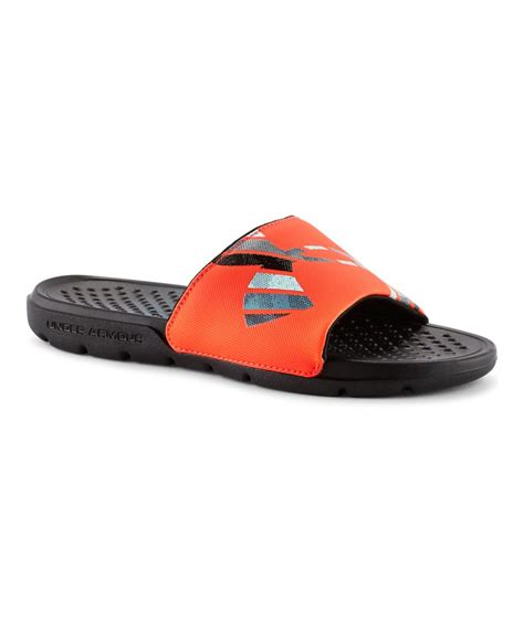 armour boys sandals boys armour strike grid sl sandals