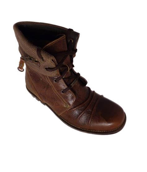 woodland gb915110 brown casual shoes for size 9 uk
