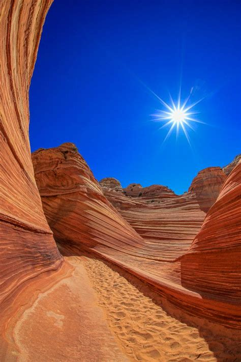 wave arizona utah border usa   world utah places amazing nature