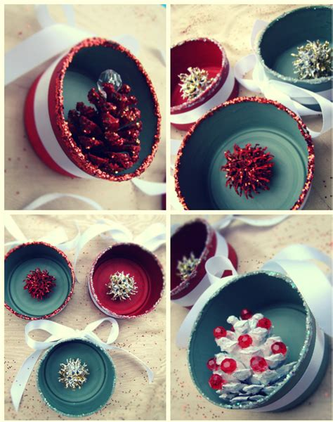 salsa pie diy vintage y christmas ornaments