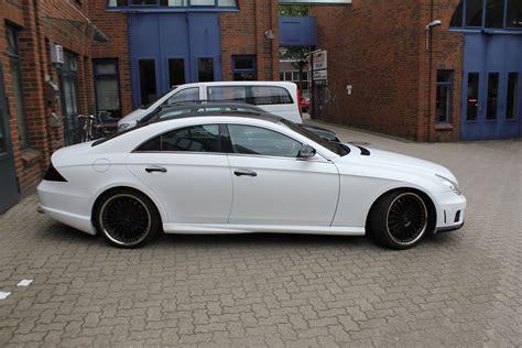 Auto Weis by Mercedes Cls In Weiss Matt Nato Oliv