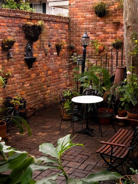 New Patio Ideas New Orleans Style Courtyard Home Design Ideas Pictures
