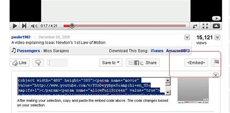 download youtube embedded videos embedding youtube video on your web page sme 865 us 10