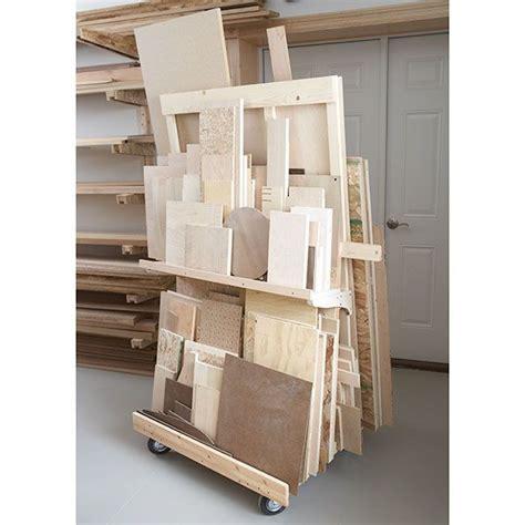 for the workshop material storage on pinterest lumber storage remodelando la casa 20 scrap wood storage holders you can