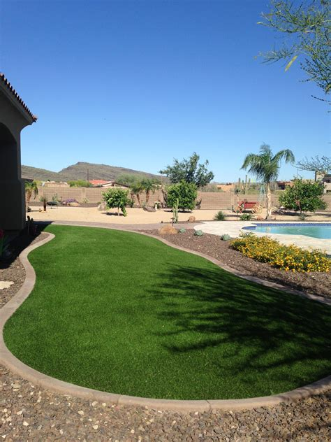 synthetic lawns earthtones landscape management