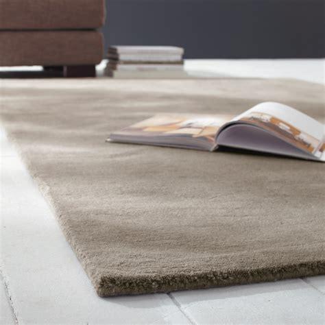 teppich 300x400 soft woollen low pile rug in beige 140 x 200cm maisons