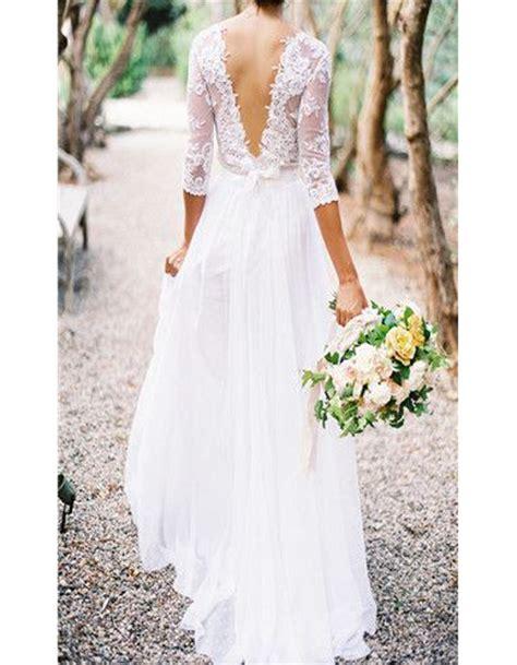 Robe De Mariée Tunisienne En - robe de mari 233 e dentelle dos nu 30 robes de mari 233 e en