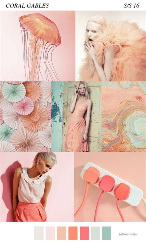 pattern curator summer 2016 coral color in trends 2016 i think fashion