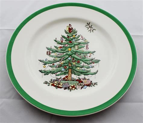 copeland spode christmas tree s2133 old brown mark