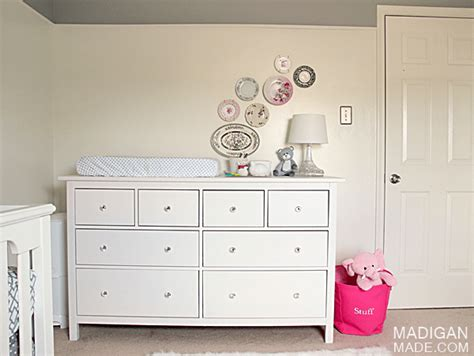 turn ikea dresser into changing table our ikea hemnes dresser changing table rosyscription