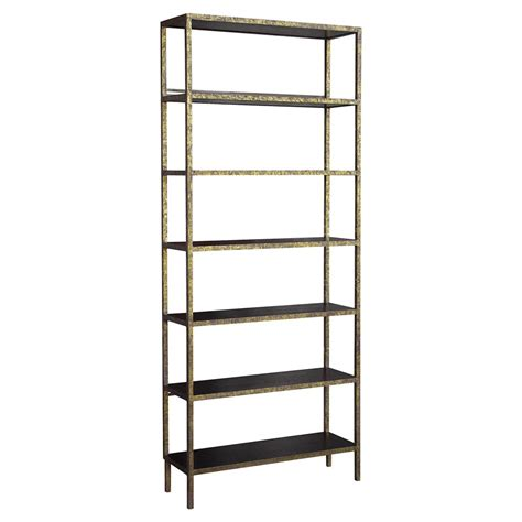 etagere 9 cases but oly studio stella antique gold brown etagere 79 5h