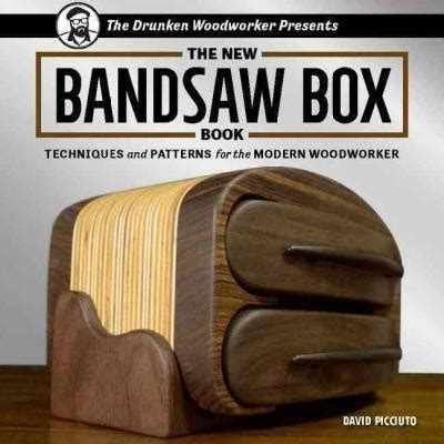 bandsaw box book techniques  patterns