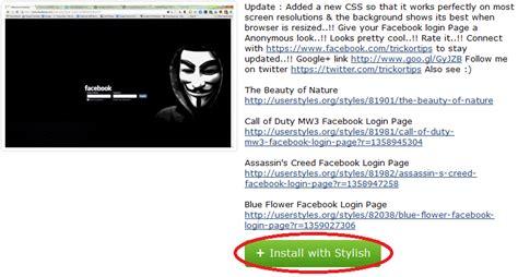 themes facebook mozilla cara mengganti tema dan backround facebook di mozila firefox